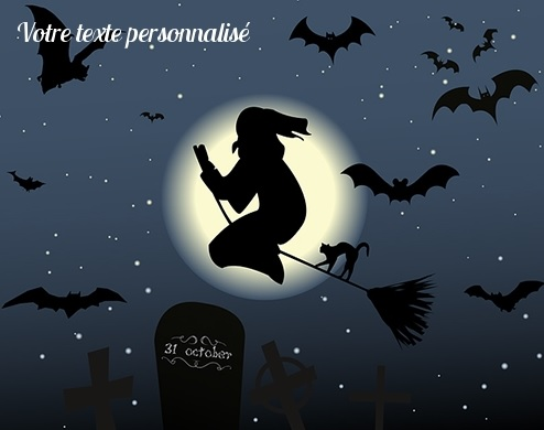 Cartes Halloween virtuelles gratuites
