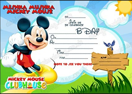 Carte D Invitation Anniversaire Princesse Disney A Imprimer Archives