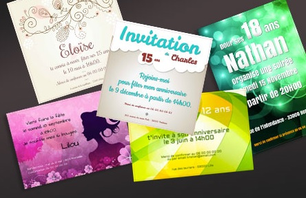 Creer Carte D Invitation Anniversaire Gratuite A Imprimer Archives