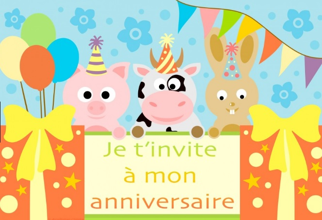 Carte Invitation Anniversaire Virtuelle