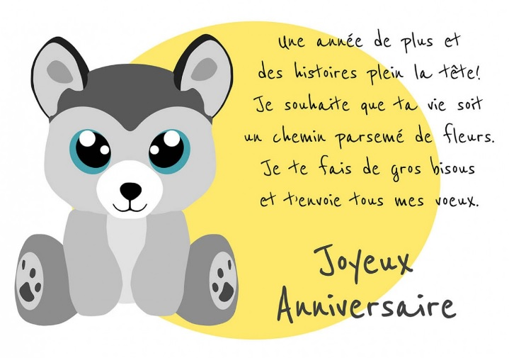 Message Anniversaire Original