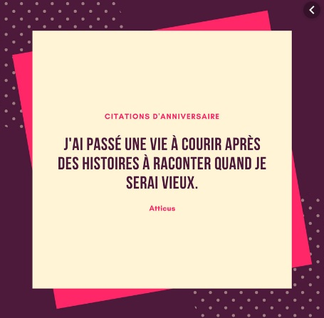 Citations D'anniversaire