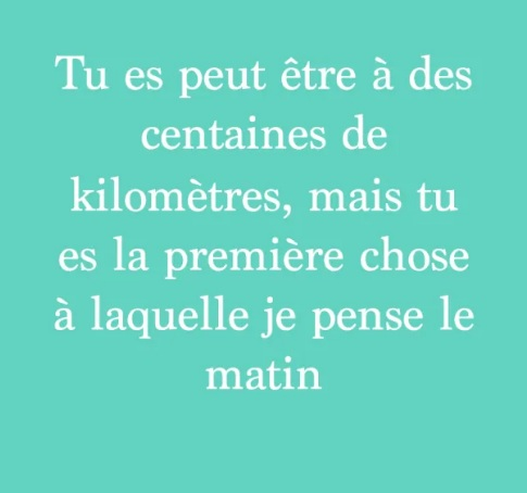 Citation Amour A Distance